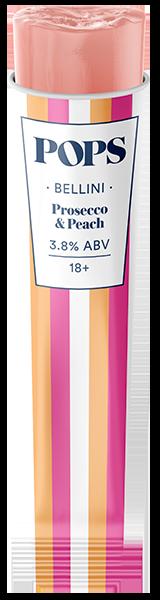 Bellini - Prosecco & Peach Popsicle