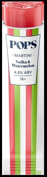 martini - Vodka & Watermelon Popsicle